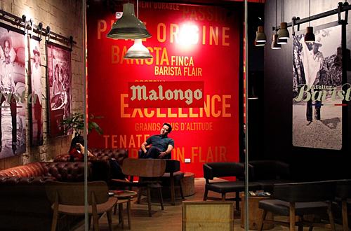Một góc quán cà phê của Malongo ở Philippines. Ảnh: Loopme