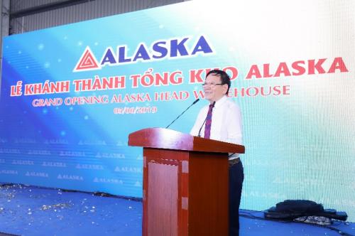 Ông Vương Nhật Bình, Chủ tịch Hội đồng quản trị kiêm Tổng giám đốc Công ty Alaska.
