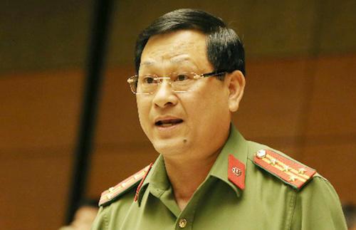 Ông Nguyễn Hữu Cầu - Giám đốc Công anNghệ An. Ảnh: Hoàng Phong.