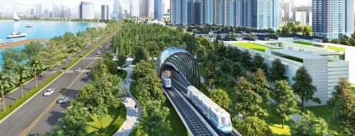 Tuyến Metro hứa hẹn giải tỏa áp lực hạ tầng giao thông, rút ngắn thời gian di chuyển tại quận 12