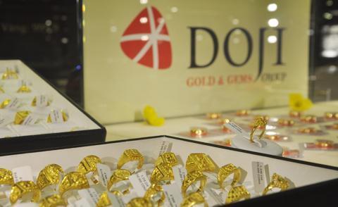 Giá vàng miếng trong nước tăng - ảnh 1