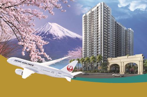 Chuyến du lịch Nhật Bản dành cho những khách hàng giao dịch thành công tại dự án.