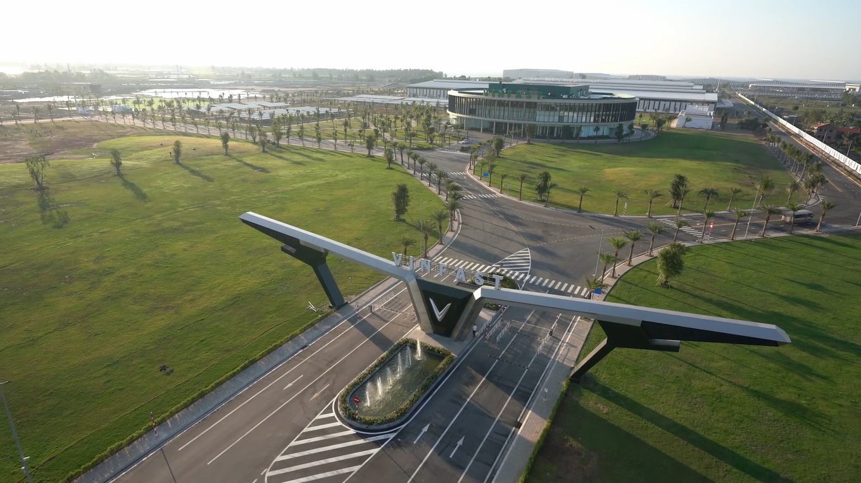 Автомобильный завод VinFast открыт после 21 месяца строительства