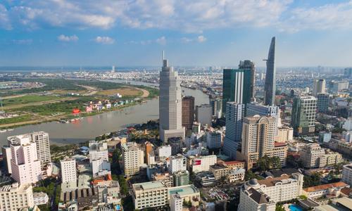 Thị trường bất động sản khu trung tâm TP HCM. Ảnh: Vũ Lê