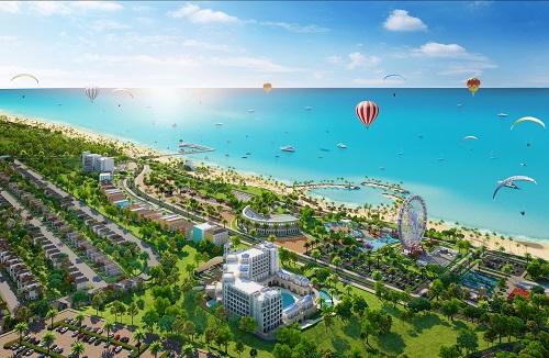 Khi hoàn thành NovaWorld Phan Thiết sẽ là tổ hợp nghỉ dưỡng giải trí quy mô thuộc hàng lớn nhất nhì tại địa phương, mục tiêu thu hút nhóm du khách quốc tế có khả năng chi trả cao.