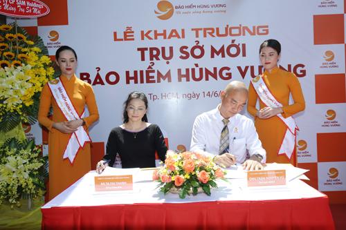 Đại diện BHV ký hợp tác với nhiều đối tác lớn.