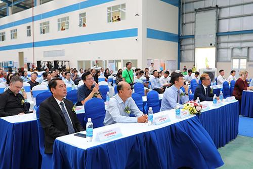 Đại diện Tập đoàn ITL và Công ty ICD Tân Cảng Sóng Thần tại buổi lễ.