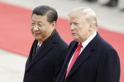 Chủ tịch Trung Quốc - Tập Cận Bình và Tổng thống Mỹ - Donald Trump. Ảnh: Bloomberg