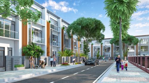 Quy hoạch tổng thể, cảnh quan khu đô thị là yếu tố quan trọng tác động tới quyết định xuống tiềncủa các nhà đầu tư và khách hàng.