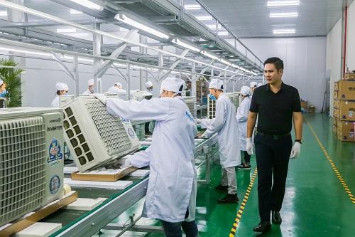 Mức tiêu thụ của máy lạnh đạt 160.000 sản phẩm, chiếm 53% kế hoạch cả năm.