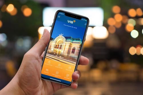 Ứng dụng MyVIB có gần trăm tiện ích, dịch vụ, công cụ tài chính như thanh toán hóa đơn, mua vé máy bay, đặt phòng khách sạn...