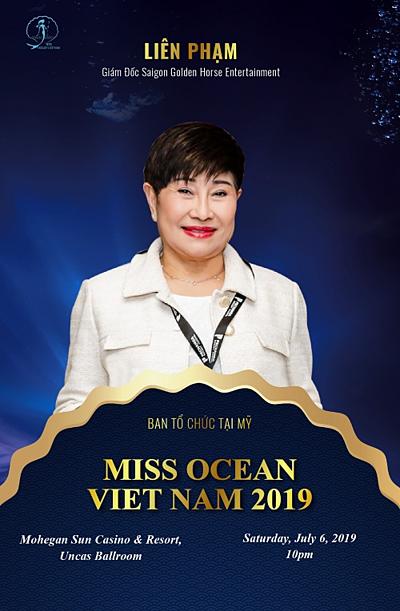 Doanh nhân Liên Phạm đánh giá cao NTK Võ Việt Chung.