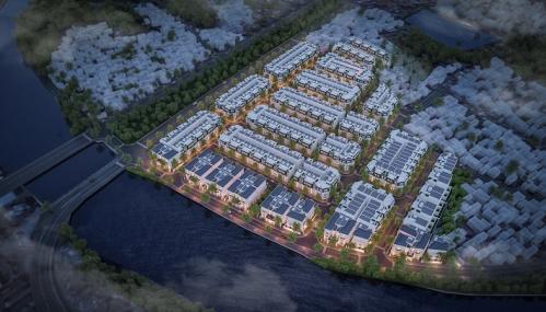 Phối cảnh dự án Hoàng Huy Riverside