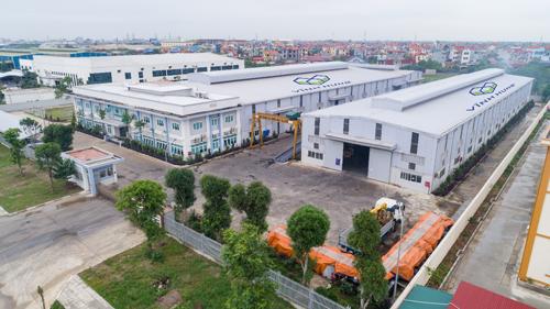 Nhà máy Vĩnh Hưng IP được đầu tư quy mô và đồng bộ