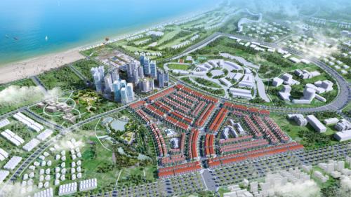 Nhơn Hội New City được quy hoạch theo phong cách kiến trúc xanh.