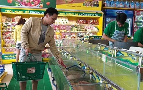 Bách hóa xanh thu gần 1.000 tỷ mỗi tháng từ bán thịt cá, rau quả - ảnh 1