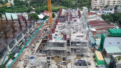 Dự án Bcons Suối Tiên đang được đẩy nhanh tiến độ xây dựng
