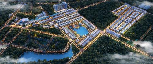 Thị trường bất động sảnVĩnh Phúc thu hút nhiều dự án nhà ở.