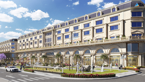 Phối cảnh dự án shophouse La Maison Premium tại Phú Yên.