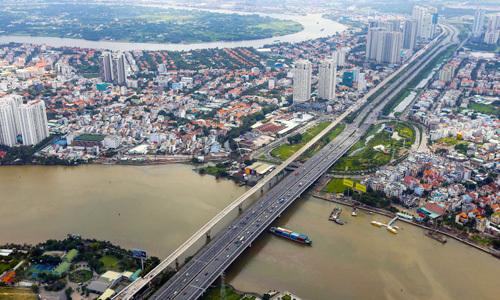 Thị trường bất động sản phía Đông TP HCM. Ảnh: Quỳnh Trần