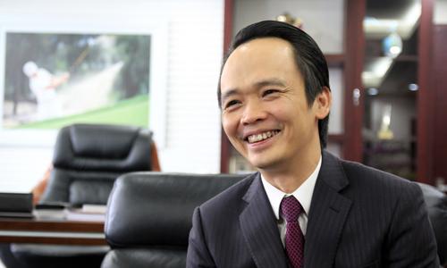 Chủ tịch FLC Trịnh Văn Quyết. Ảnh: Anh Tú