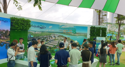 Aqua City được đánh giá cao về cảnh quan sinh thái
