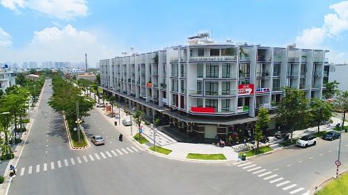 Tại các khu đô thị quy hoạch bài bản, các sản phẩm thương mại ưu tiên vị trí thuận lợi trong giao thương, tọa lạc tại những cung đường chính trong dự án.
