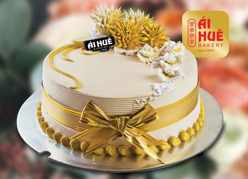 Sản phẩm bánh kem với vẻ ngoài lẫn hương vị truyền thống kết hợp cùng sự sáng tạo.
