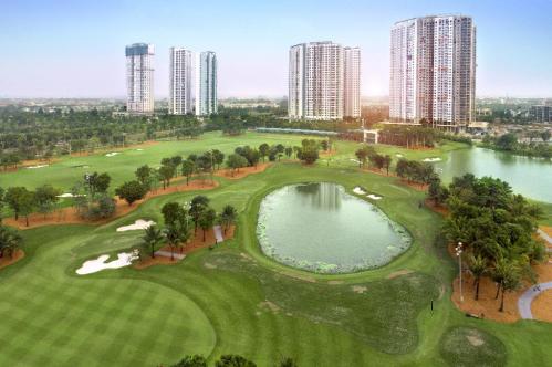 Ecopark đẩy nhanh tiến độ hoàn thiện khu căn hộ cao cấp Aqua Bay