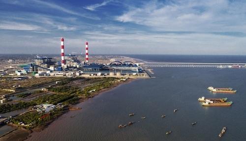 Nhà máy Nhiệt điện Duyên Hải. Ảnh: PV