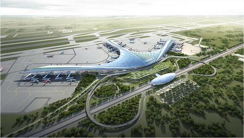 Sân bay Long Thành là một trong những dự án được trông đợi nhất.