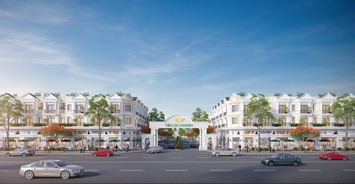 Phối cảnh dự án Tiến Lộc Garden dự kiến triển khai tại Nhơn Trạch. v