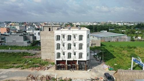Dự án thích hợp phát triển thành nhà ở cho các hộ gia đình và phát triển các loại hình kinh doanh. Ảnh: Đại Phát Land.