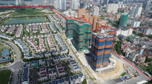 Starlakelàdự án chung cư đầu tiên mang dấu ấn củaDaewoo E&C tại Việt Nam.