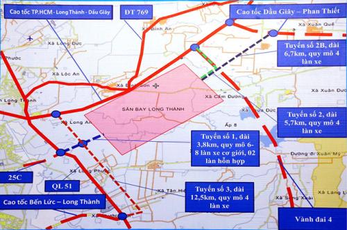 Các tuyến cao tốc đang hoàn thành để phục vụ kết nối sân bay quốc tế Long Thành