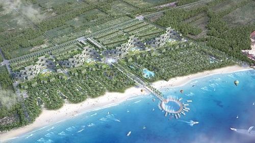 Hàng loạt các dự án bất động sản nghỉ dưỡng mọc lêntại Kê Gà -Bình Thuận.