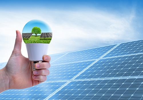 Sacombank hỗ trợ vay vốn lắp thiết bị năng lượng mặt trời.