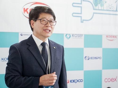 Ông Park Byung Il - Giám đốc Điều hành Đối ngoại Hiệp hội Điện lực Hàn Quốc.