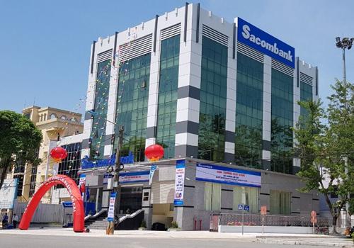 Trụ sở Sacombank chi nhánh Lào Cai.
