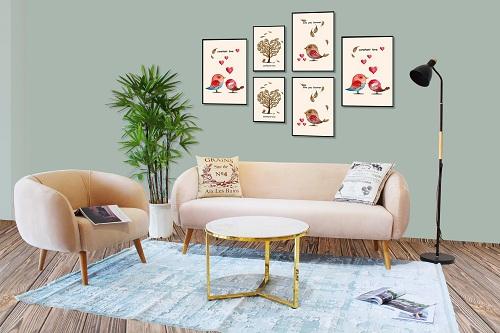 Xu hướng nội thất đơn giản, tinh tế, sử dụng một phần gỗ kết hợp các chất liệu khác đang được người tiêu dùng ưa chuộng. Ảnh: Furnist.