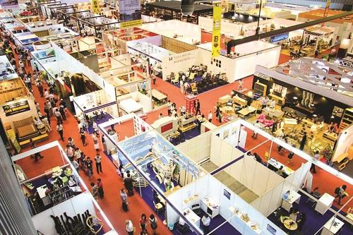 Các doanh nghiệp mong muốn mang sản phẩm đạt chuẩn xuất khẩu giới thiệu đến người tiêu dùng qua các triển lãm. Ảnh: HAWA.