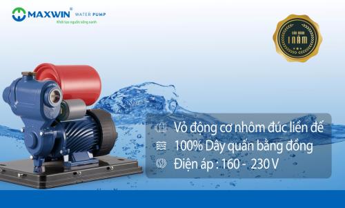 Những tính năng nổi bật của máy bơm nước Maxwin - 1
