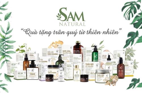 Các sản phẩm của Sam Natural.