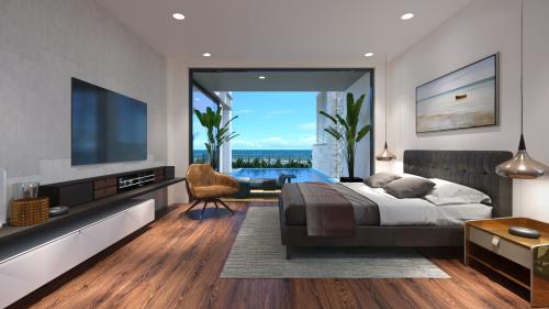 Phối cảnh căn hộ hướng biển