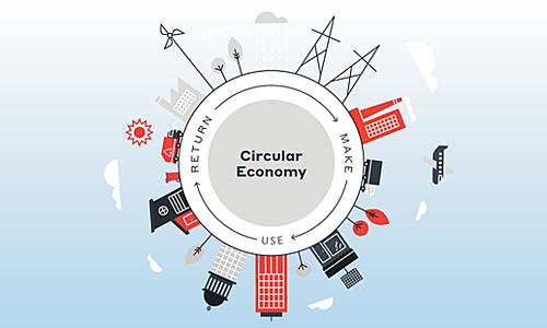 Tái tạo, tái chếsản phẩmcuối vòng đời sử dụng là yếu tố quan trọng của kinh tế tuần hoàn. Ảnh: WSP