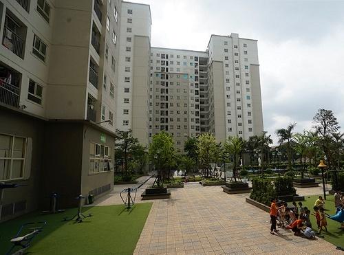 Thuê căn hộxã hội, người dân được hưởngcác tiện ích, dịch vụ...tương tự như những cư dân khác.