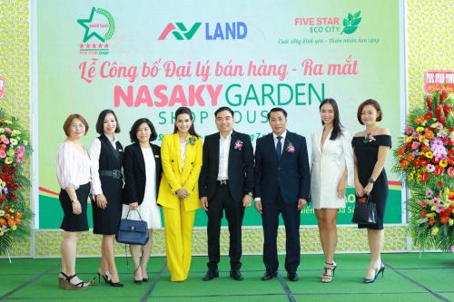 Các đại biểu tham dự lễ công bố đại ký bán hàng và ra mắt phân khu Nasaky Garden Shophouse.