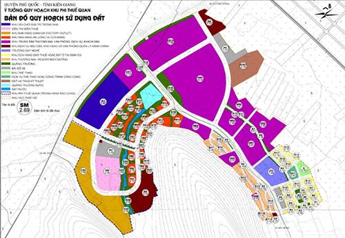 Ý tưởng quy hoạch khu phi thuế quan tại Phú Quốc, Kiên Giang
