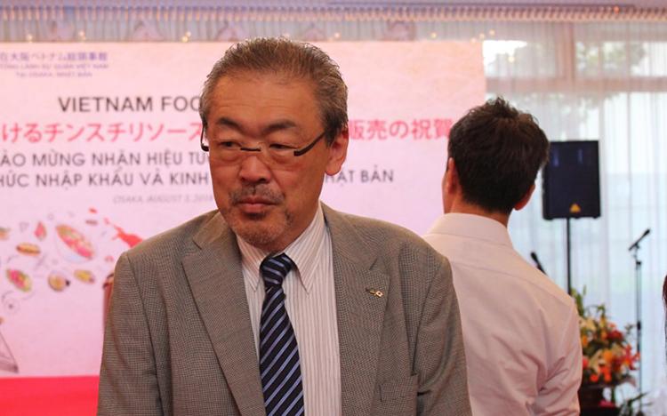 Ông Jorge Imai, Tổng giám đốc Công tyImai Limited.