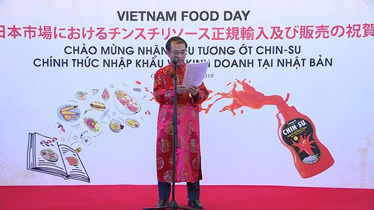 Tổng lãnh sự Việt Nam tại Osaka, ông Vũ Tuấn Hải phát biểu tại sự kiện.